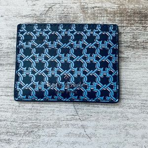 Kate spade LINK BLUE Multi small slim card holder